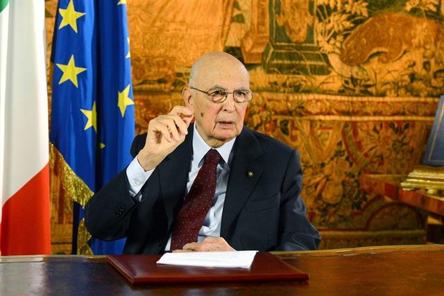 Discorso del presidente Napolitano