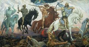 I Cavalieri dell'Apocalisse (1887) di Victor Vasnetsov