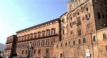 Palazzo dei Normanni, sede dell'Assemblea regionale siciliana